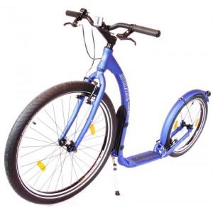 Kickbike Cruiser volwassen mat blauw